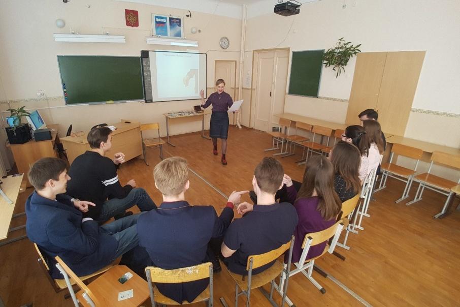 В гимназии № 30 школьникам рассказывают, как успокаиваться до и во время экзамена
