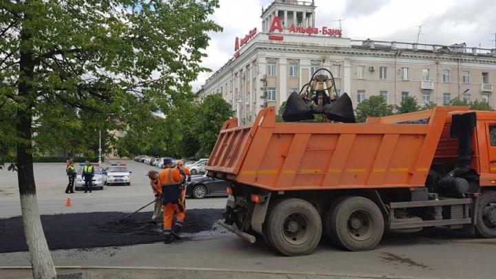 Улицы Дзержинского, Космонавтов, Ушакова в Кургане отремонтируют по решению суда