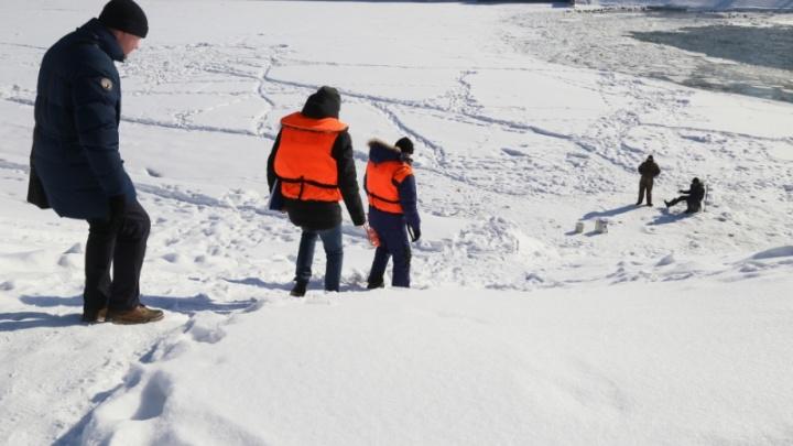 За рыбалку у дамбы на реке Тобол курганцам грозит штраф в тысячу рублей