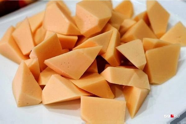 Сыр из Прикамья поставляли в детский сад Белгородской области