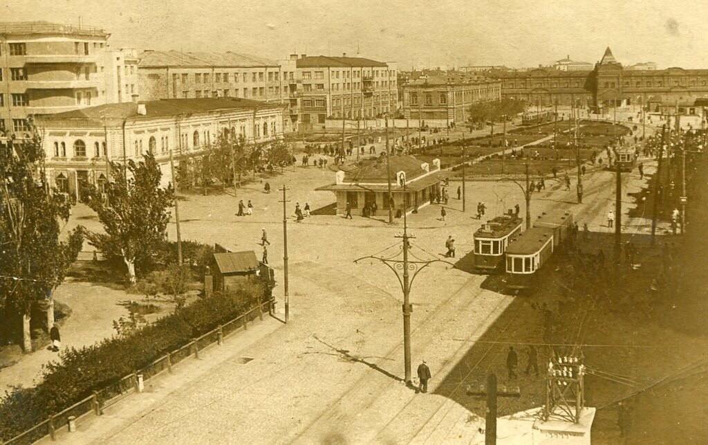 Центр Сталинграда 1935 года