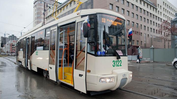 Трамвай № 13 временно сократит маршрут из-за ремонта на Фрунзе