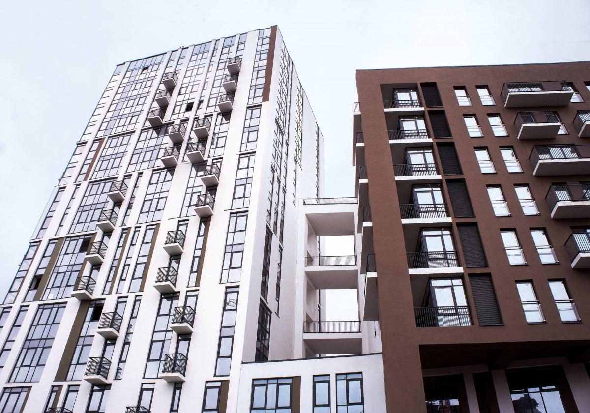 Фасады с алюминиевыми профилями смотрятся стильно и футуристично