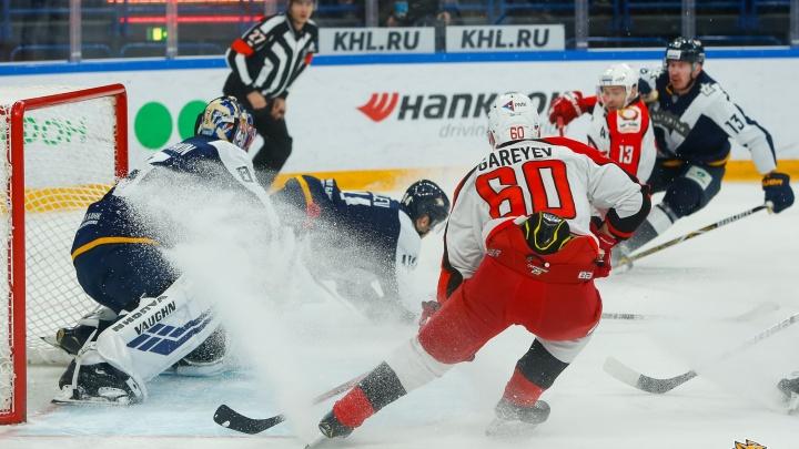 Всё решилось на последних минутах: «Автомобилист» обыграл принципиального соперника в Магнитогорске