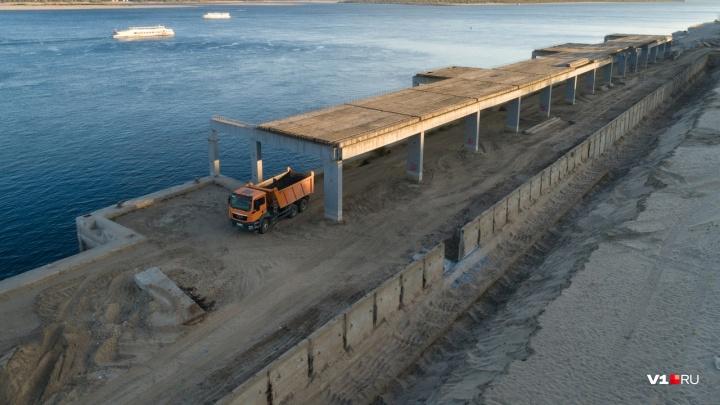 Ломать и строить: набережную Волгограда разворотили, чтобы собрать заново