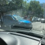 «Рено» развернуло поперёк полосы: на улице Авроры в Самаре столкнулись две легковушки