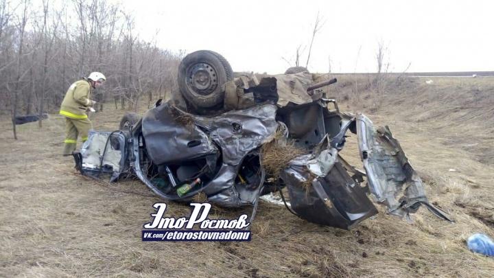 «Разорвало на части»: в Ростовской области в страшном ДТП погибли два человека