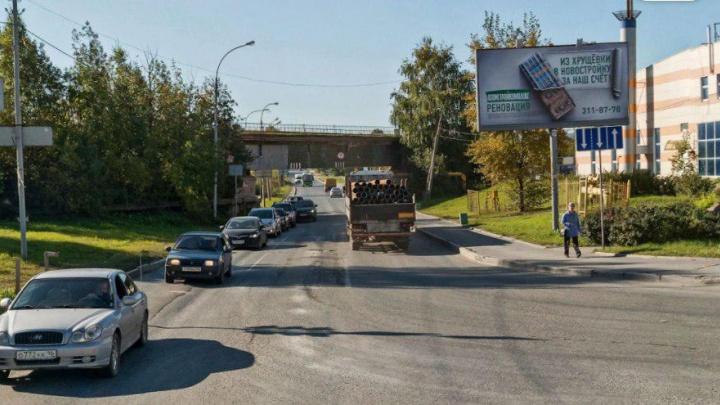 Выезд на Полевской тракт через Вторчермет будут закрывать по вечерам и ночам