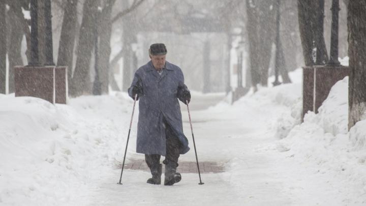 Погода в Башкирии: понедельник будет снежным и холодным