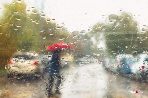 Похолодание будут сопровождать дожди
