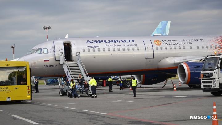 «Аэрофлот» отменил все субботние рейсы в Омск
