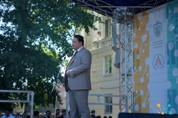Михаил Тихонов был министром промышленности и энергетики Ростовской области с 2014 года