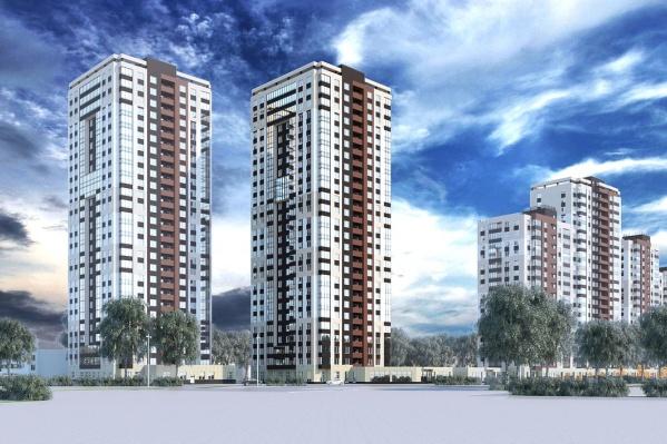 Ювелирный квартал «Новая Ботаника» будет состоять из четырёх домов переменной этажности с собственной инфраструктурой