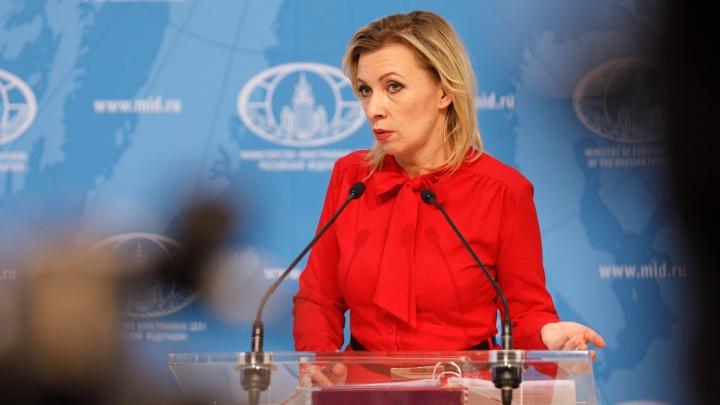 «По дороге в аэропорт»: официальный представитель МИДа Мария Захарова увидела Волгоград из окна