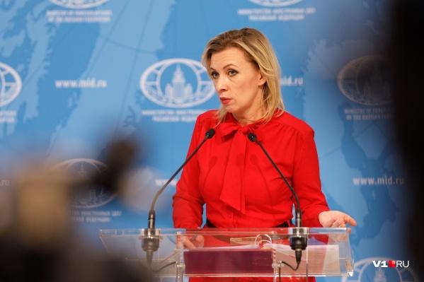 В беседе с журналистами Мария Захарова рассказала про плотный график