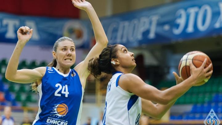 Баскетбол: новосибирское «Динамо» обыграло красноярский «Енисей»