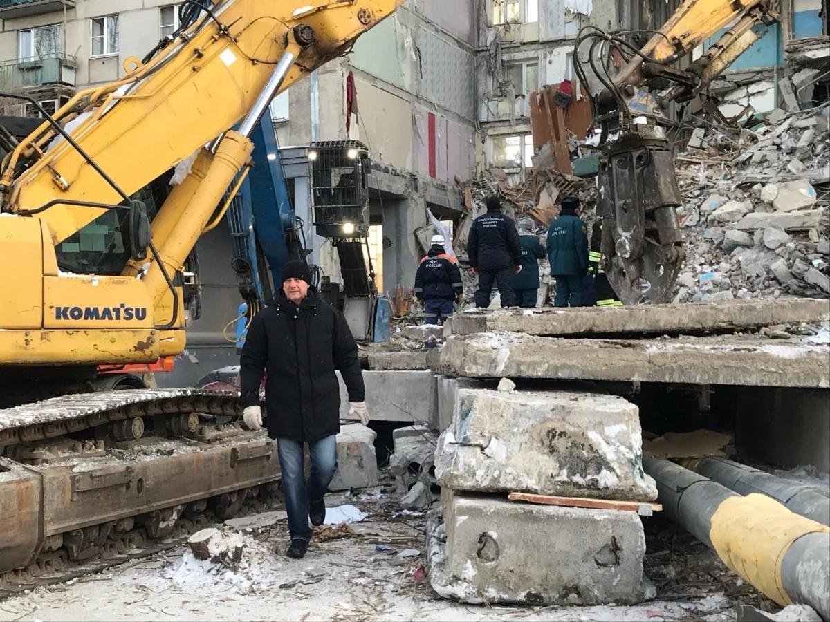 Сергей Бердников приехал на место ЧС сразу же после взрыва