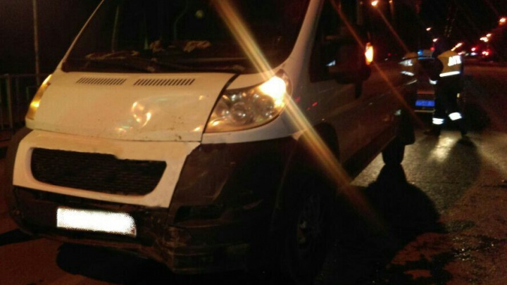 В Уфе пьяный водитель протаранил машину с беременной женщиной