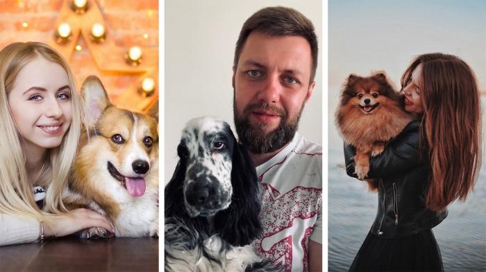 У него «твои» глаза: 15 фото, на которых собаки и хозяева похожи как близнецы (это нереально)