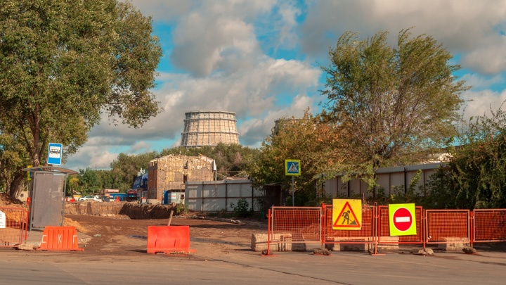 Огромный коллектор на Алма-Атинской скоро засыпят