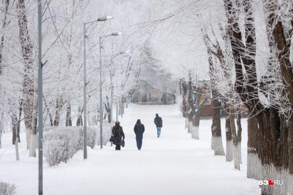 Подарит ли февраль такую снежную идиллию?
