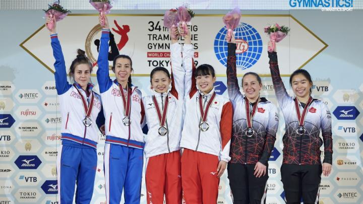 Допрыгалась до медали: ростовчанка стала призером чемпионата мира по прыжкам на батуте