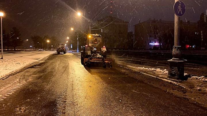 Ночью в Архангельске ожидают выпадение снега