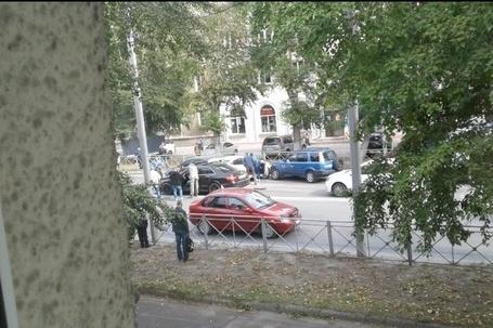 Авария случилась недалеко от остановки «Байкальская»