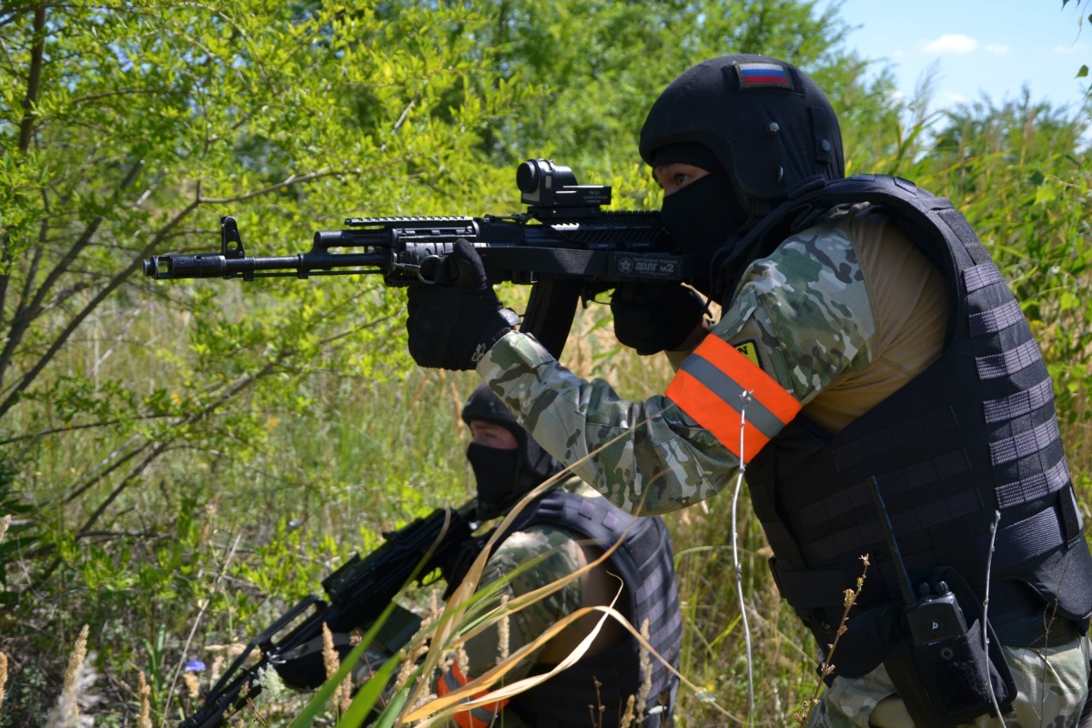 Учения проходили в условиях, приближенных к реальным боевым действиям