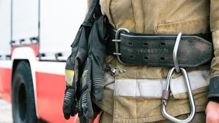 Очевидцы: «Под Тольятти в пожаре в дачном доме погиб человек»
