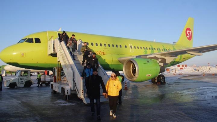 Авиакомпания S7 объяснила причину экстренного возврата рейса Новосибирск — Москва