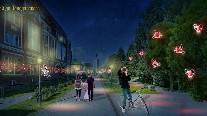 «Кто любит свой город, не примет это всерьез»: архангелогородец — об иллюминации для Чумбаровки