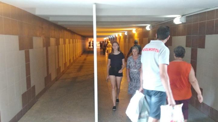 Будет пробка из пешеходов: в переходе на Нагибина в Ростове установят 15 торговых точек