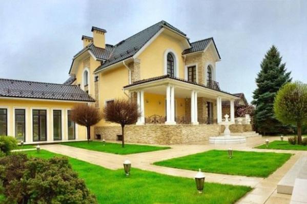 Общая площадь «резиденции»— 15 соток