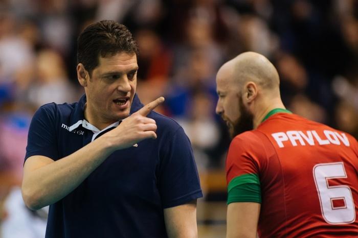 Для выхода в финал ВК «Локомотив» необходимо было победить со счётом 3:0 или 3:1