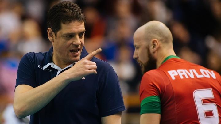 Волейбол: ВК «Локомотив» одержал победу над командой из Италии