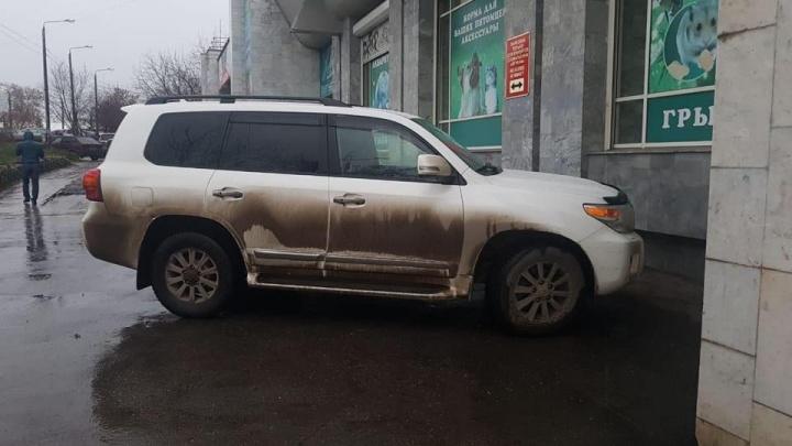 В Перми расстреляли автомобиль депутата Законодательного собрания
