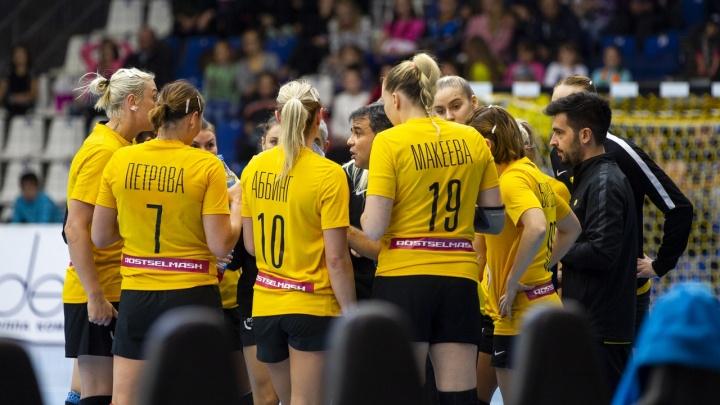 Уступили венграм: ГК «Ростов-Дон» занял вторую строчку в рейтинге лиги чемпионов
