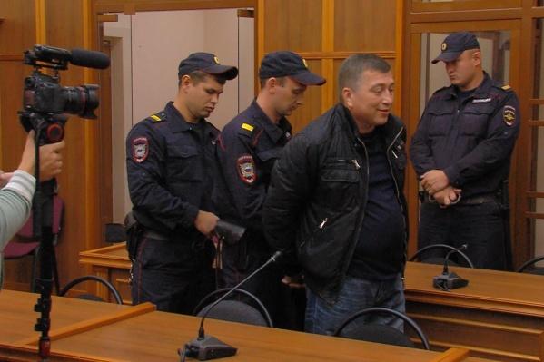 Александра Гиря взяли под стражу в зале суда