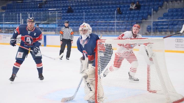 Полный разгром: хоккеисты «Ростова» не оставили шансов соперникам из Красноярска