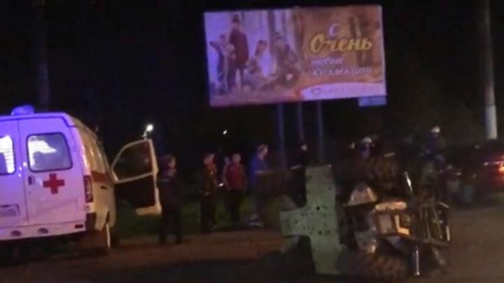 На Богдана Хмельницкого водитель квадроцикла погиб после столкновения с иномаркой