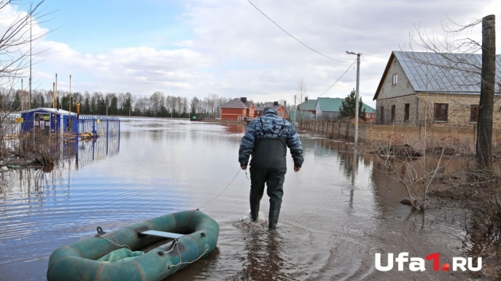 В Башкирии реки возвращаются в берега: вода пошла на убыль