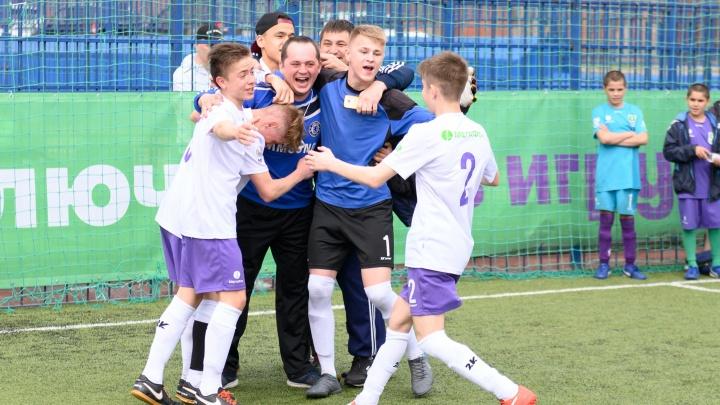«Мы едем в Сочи!»: лучшие моменты футбольных соревнований «Будущее зависит от тебя» в Волгограде