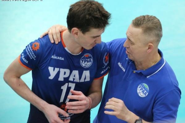 Воспитанник уфимского волейбола Егор Феоктистов