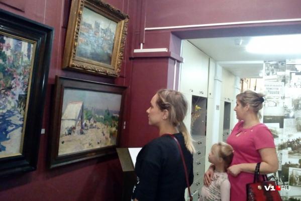 Три картины — три этапа жизни знаменитого художника