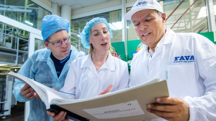 Секреты мастерства: сотрудников «МАКФЫ» обучают итальянские технологи мирового уровня