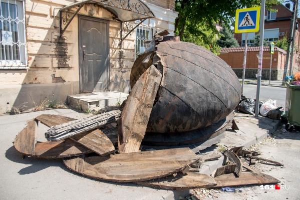 Старинному куполу с 19-й линии нашли место