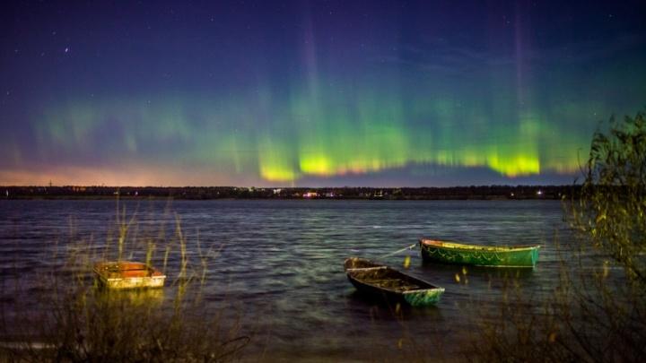 Мощная магнитная буря приведёт к северному сиянию над Ярославлем: когда ждать