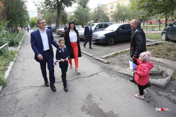 Врио главы региона Алексей Текслер получил более 69% голосов