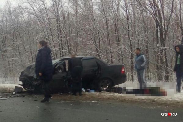 Пассажиры отечественного авто не выжили